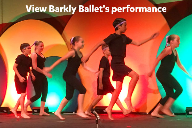 Barkly Ballet performance